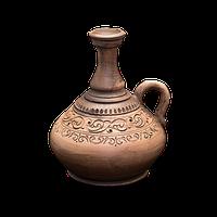 Графин глиняный с ручкой «Шляхтянский» AH0523 Покутская керамика