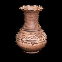 Ваза - хвыливка глиняная «Шляхтянская» AI0825 Покутская керамика