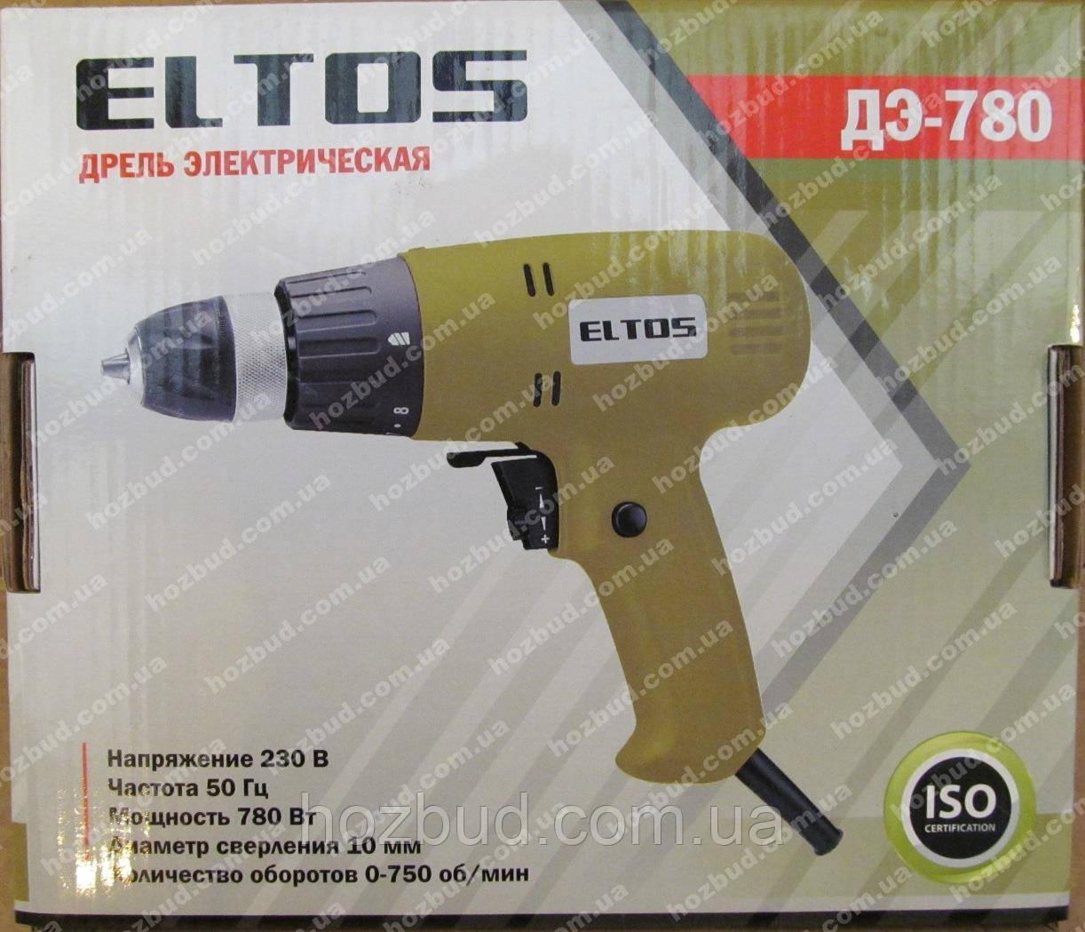 Мережевий шуруповерт Eltos ДЕ-780