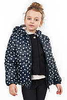 Детская куртка с принтом для школьного возраста