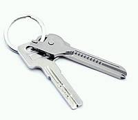 Брелок багатофункціональний розкладний у вигляді ключа SKU0000648, фото 1