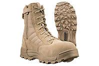 Берцы Original S.W.A.T Classic 9 inch Side Zip Sand армейские берцы, обувь для военных