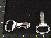 Карабин 067 15mm никель антик золото никель