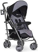 Детская прогулочная Коляска-трость CROSSLINE Carbon - Euro-Cart Польша - пятиточечный ремень, чехол, корзина