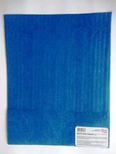 Фетр листовой (полиэстер), 21,5*28 см, синий, 180 г/м2, Rosa Talent, 953633