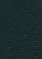 """Фетр листовой (полиэстер), 21,5*28 см, эмбоссинг, черный """"Абстракция"""", 180 г/м2, ROSA Talent, 953886"""