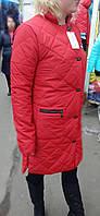 Женская  куртка, длинная