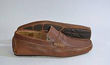 Мокасины мужские натуральная кожа коричневые