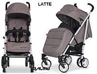 Детская прогулочная Коляска-трость MORI Latte - Euro-Cart Польша - пятиточечный ремень, чехол, корзина