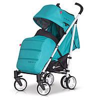 Детская прогулочная Коляска-трость MORI Malachite - Euro-Cart Польша - пятиточечный ремень, чехол, корзина