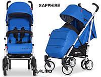 Детская прогулочная Коляска-трость MORI Sapphire - Euro-Cart Польша - пятиточечный ремень, чехол, корзина