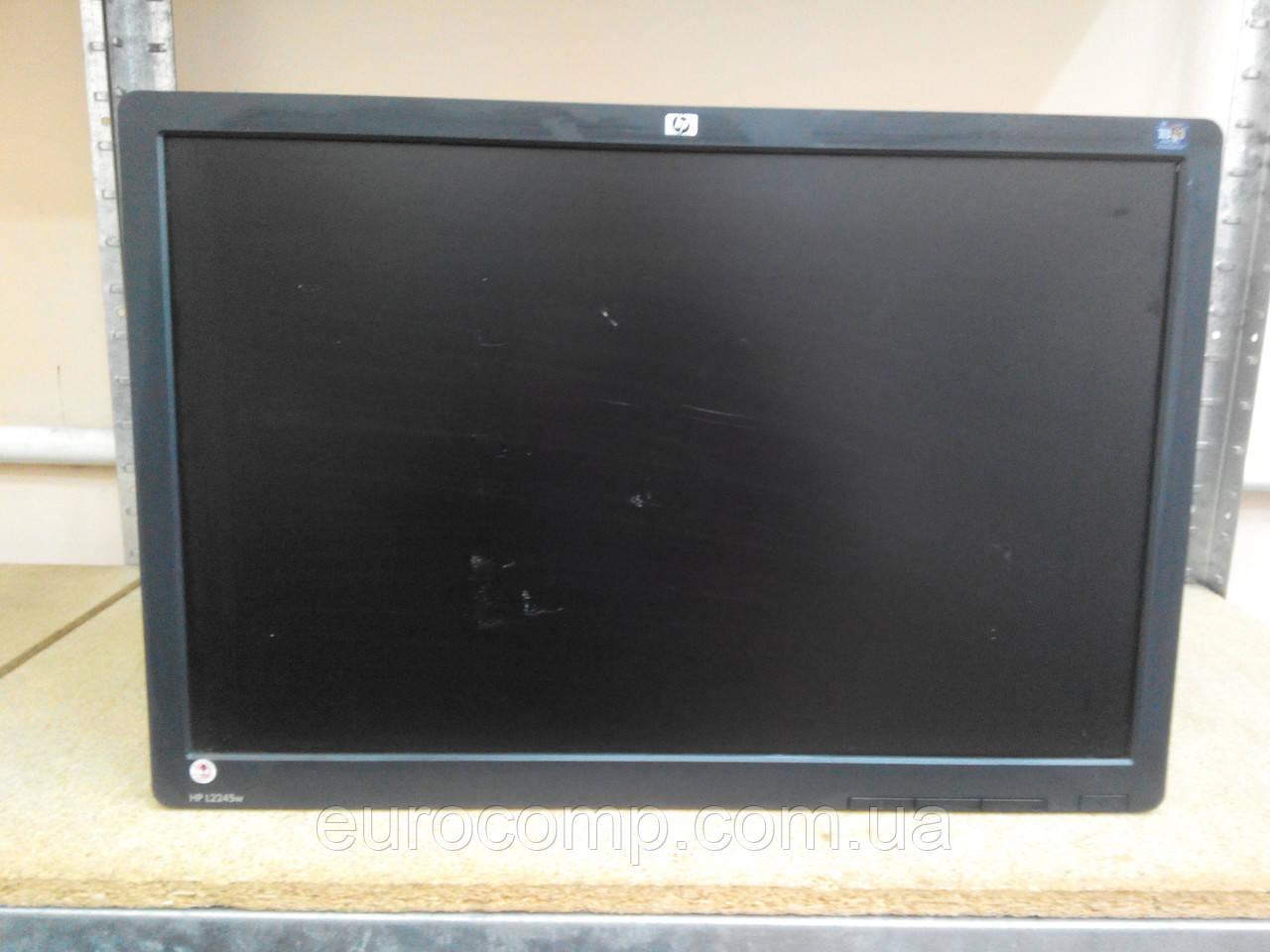 Монитор для работы, видеонаблюдения 22'' (HP L2245W) Уценка, без подставки, царапины на матрице