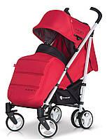 Детская прогулочная Коляска-трость MORI Scarlet - Euro-Cart Польша - пятиточечный ремень, чехол, корзина