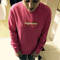 Свитшот с принтом Supreme | женская