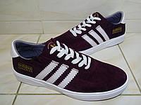 Кроссовки мужские Adidas Gonzales бордовые