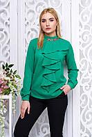 Женская зеленая блуза Шерами Arizzo 44-50  размеры