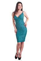 Женское платье новинка  Мэрилин элегантное, вечернее размеры 42, 44, 46, 48, 50, 52, 54, 56 бирюзовое