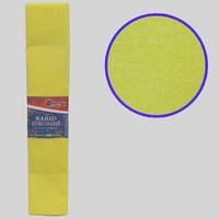 """Бумага гофрированная желтая 55% 20г\м2 50см*2м KR55-8030 """"JO"""""""