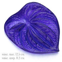 Молд Лист Антуриум, для одного одностороннего листика, Размер: 12.5х11.2см, арт.3060, (УТ0024584)