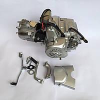 Двигатель Дельта Альфа 110 см3 механика