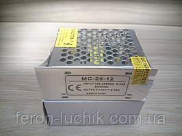 Блок питания постоянного тока 25W, 2.08А, IP20