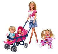 Кукла Штеффи с детьми и аксессуарами 5736350, Simba