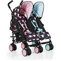 Детская прогулочная коляска для двойни Сosatto Supa Dupa Go Twin