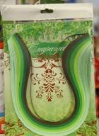 Набор для квиллинга №403 5мм*300мм 6цветов, 240полосок