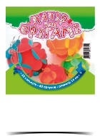 """Бумага для оригами """"Круг"""" 140мм 60листов 10цветов """"Рюкзачок"""" УП-80"""