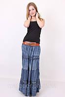 Юбки летние макси оптом Юбка женская джинсовая