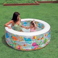 Детский надувной бассейн Intex 58480 Аквариум