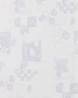Тканевые ролеты. 40*170 см. Сентябрь 4023 Белый(Любой размер под заказ)