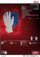 Перчатки защитные  RECO    .Перчатки с латексным покрытием