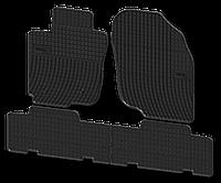 Коврики резиновые Toyota Rav4 08-12 (4 шт.) Тойота Рав4  Elegant EL200804