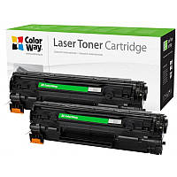 Картридж CW (CW-H435/436FM) HP LJ P1005/1006/1102/Canon LBP 3010/3020/6000/6020/MF3010 (аналог CB435
