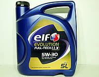 Масло моторное Elf Evolution Fulltech LLX 5w30 5л