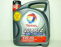 Масло моторное Total Quartz Ineo Long Life 5w30 5л