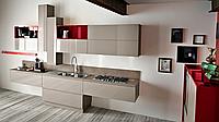 Итальянская современная ламинированная бюджетная кухня FLO фабрика AR-TRE