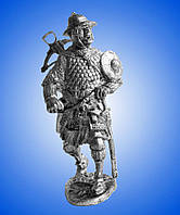 Оловянная фигура Арбалетчик 13 век