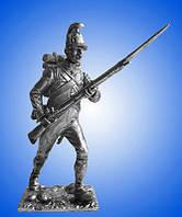 Оловянный солдатик Австрийский  унтер офицер пехотного полка