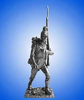 Оловянный солдатик Австрия. Унтер офицер пехотного полка