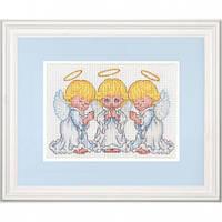 """Набор для вышивания """"Маленькие ангелочки"""""""