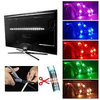 LED RGB - фоновая подсветка ТВ с USB интерфейсом и пультом