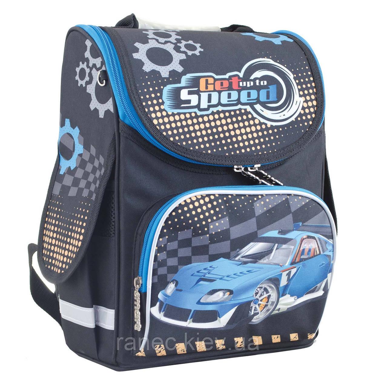 441304145bf9 Рюкзак каркасний Smart PG-11 1 Вересня Blue car 553424: продажа ...
