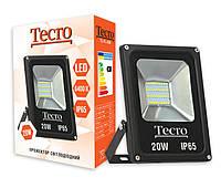 Светодиодный прожектор Tecro TL-FL-20B 20W 6400K