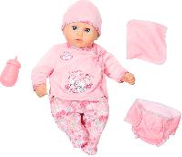 Интерактивная кукла Удивительная малышка Беби Аннабель Zapf Creation My First Baby Annabell I Care for You