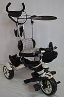 Детский трехколесный велосипед Lexus Trike KR 01 Пена-резина. Серый