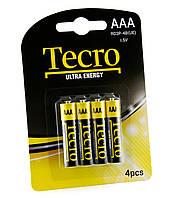Батарейка Tecro Ultra Energy AAA/LR03 BL 4 шт