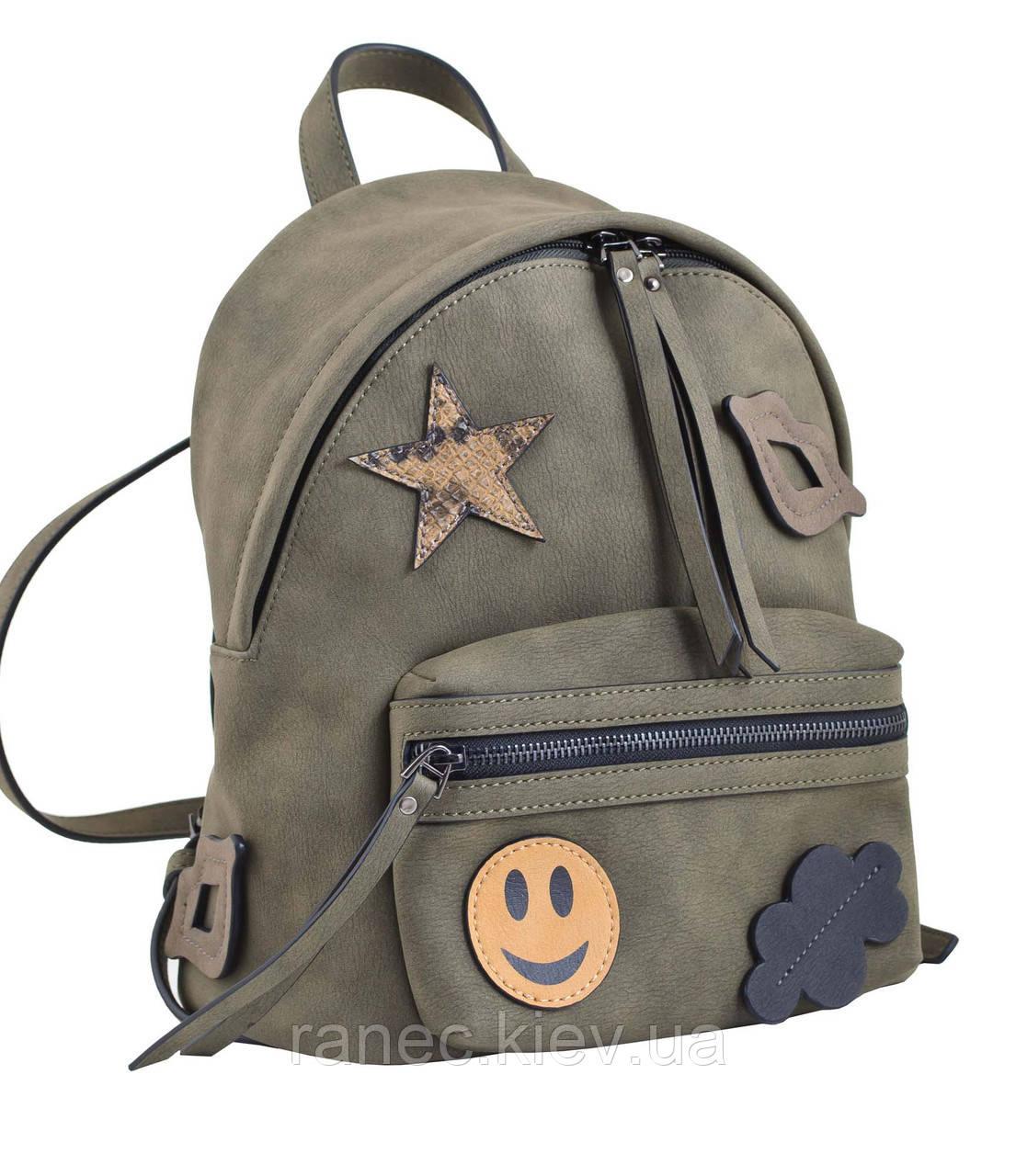 21f2f0d47e3 Сумка-рюкзак Yes Weekend хаки 553985: продажа, цена в Киеве. сумки и ...