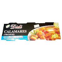 Кальмары Didi Calamares (Trozos) En Salsa Americana, 80 г (Испания)